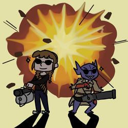 More like TEAMWORK fortress 2 am I right by madelineart