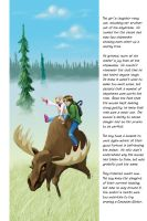 Kids on a Moose by charlando