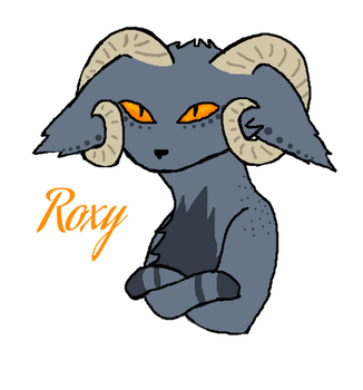 Roxy the Cat Dragon by LynxTheMadHatter