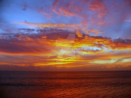 Mexican sunset by kenartkelowna