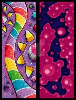 Candy Bookmarks by JellySoupStudios
