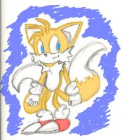 Sketchy Tails by Luisart23