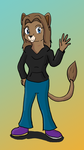 Fursona redesign by Krispina-The-Derp