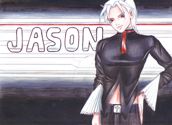 30-day trial , Day 2/30: Jason Pin-Up pic by HaruIchibanForbidden