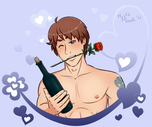 Valentine's Day Card with Jay by mystic-touch