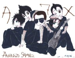AVENGED SEVENFOLD CHIBIS by All-shall-fade
