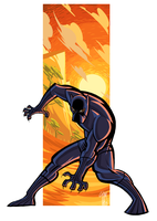 Black Panther by ElOctopodo
