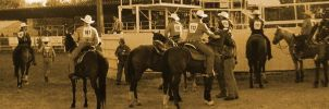 Rodeo with disposible camera by Littlelion225