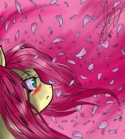 Flutter In The Petals by CheckeredMarionette8