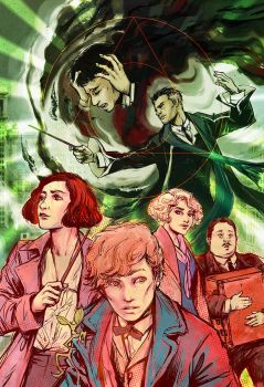 Fantastic Beasts by beanclam