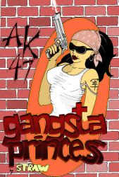 Gangsta Princess Color by Strooitje