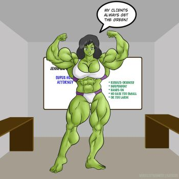 She-Hulk Growth Part 6 of 6 by elee0228