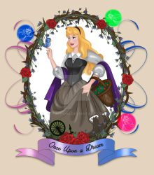 Briar Rose - Once upon a time by Fulvio84