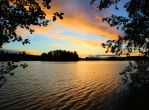 A glimpse into the lake by KariLiimatainen