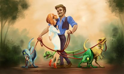 Jurassic World Disney by K-EL-P