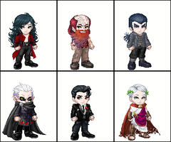 Vampire the Requiem - Clans by Sekele