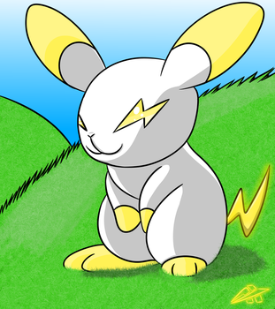 Electric Bunny Thing (Bunnyvolt) by Axial97