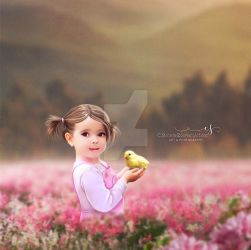 My little Chick by cherie-stenson