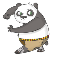 Kung Fu Panda by Awko-Talko