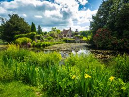 Scotney Castle by amipal