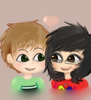 Me and my bby by DaRainbowGurl