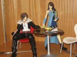 Squall and Rinoa by Bramarb