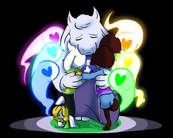 Mother :: Undertale by RainbowFilled