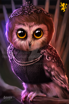 Game of Owls: Cersei OWLnister by 4steex