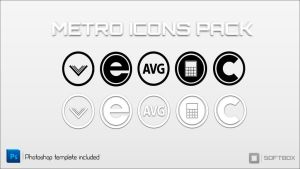 Metro Icons pack-Softbox by Softboxindia