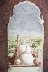 View of Minar-e-Pakistan by MehtabArtist