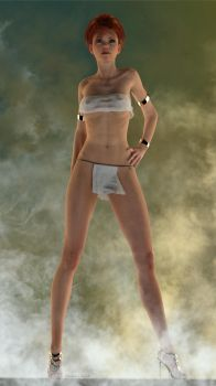 Banetha PinUp 3 by Edheldil3D
