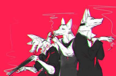 Mob Dogs by JerkArts