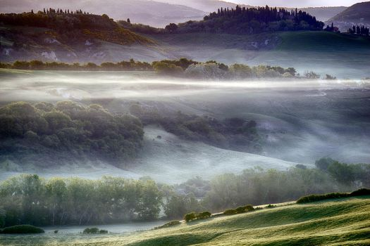Magic Tuscany 8 - in the mist-5:32 AM by CitizenFresh