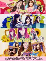 PACK COVER - HPBD TO FANY #1 by NekoNguyen