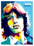 mick jagger by opparudy