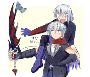 Something about riku thats probably not funny by Kaliga