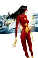 Spider-Woman by pungang
