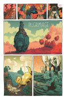 Pilgrimage Revised Page 1 by liliesformary