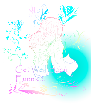 Get well soon Eunnie by CupOfSpazz