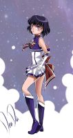 Super Sailor Saturn - New Outfit Redesign by daadia