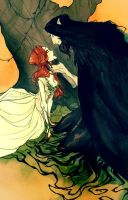 Hades and Persephone IV by AbigailLarson