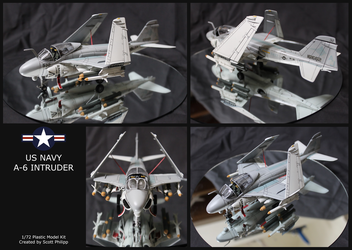 US Navy A-6 Intruder Model by shadowvfx