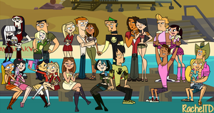 Total Drama Season 6 - My cast by RachelTD