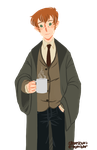 Remus Lupin x Reader by scrougeofares on DeviantArt