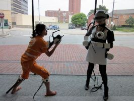 Portal Cosplay - Face Off by aiimeii