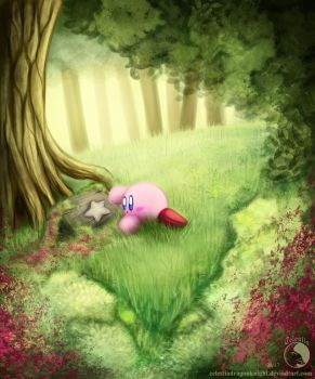 Kirby - The Stone by CelestiaDragonKnight