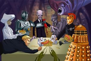 doctor who: happy meal! by DameEleusys