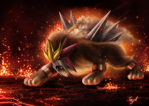 ENTEI by SanjulWhiteShadow