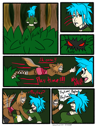 My Life as a blue haired sorceress page 53 by epic-agent-63
