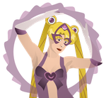 Sailor Moon as Star Sapphire by CodeAndReload